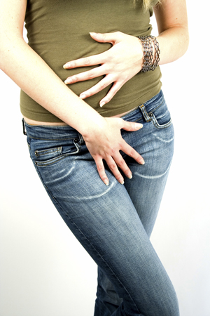 Houston OBGYN | Woman with pelvic pain